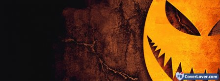 Halloween Scary Head Facebook Covers