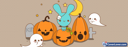 Halloween Anime 2 Facebook Covers