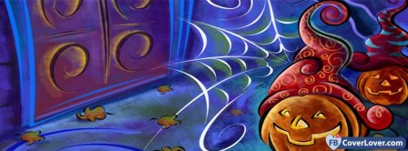 Halloween Cartoon Facebook Covers