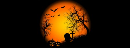 Halloween Cemetery Facebook Covers