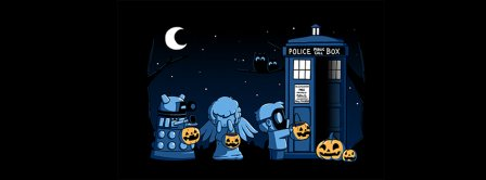 Halloween Doctor Who Facebook Covers