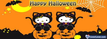 Halloween Hello Kitty Facebook Covers