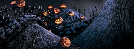 Halloween Pumpkins Cemetery Facebook Covers