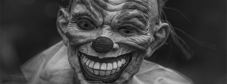 Halloween Scary Clown Facebook Covers