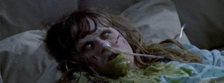 Halloween The Exorcist Scene Facebook Covers