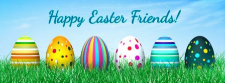Happy Easter Friends 2019 Facebook Covers