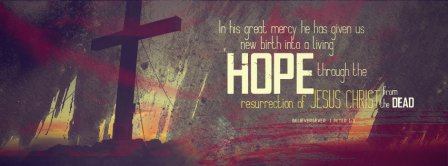 Happy Easter The Ressurection Of Jesus Christ Facebook Covers
