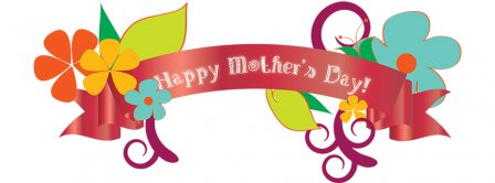 Happy Mothers Day Banner Facebook Covers