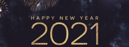 Happy New Year 2021 Fireworks Facebook Covers