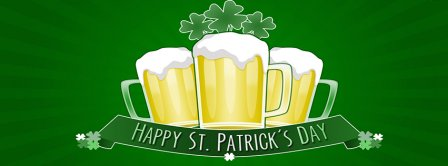 Happy Saint Patricks Day Facebook Covers