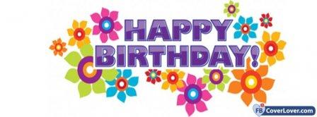 Happy Birthday 3 Facebook Covers