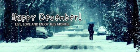 Happy December Facebook Covers