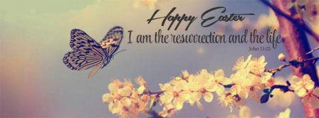 Happy Easter Resurrection And Life Facebook Covers