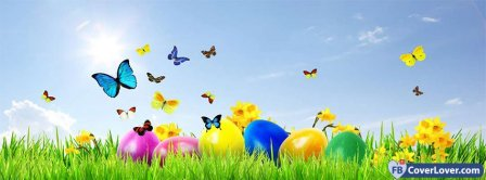 Happy Easters 12 Facebook Covers