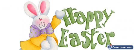Happy Easters Bunny Facebook Covers