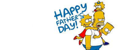 Happy Fathers Day Simpsons Facebook Covers