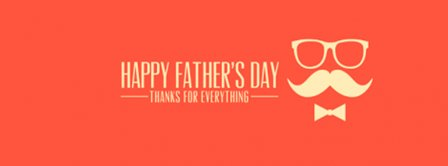 Happy Fathers Day Thank You Dad Facebook Covers