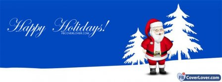 Happy Holidays 2 Facebook Covers