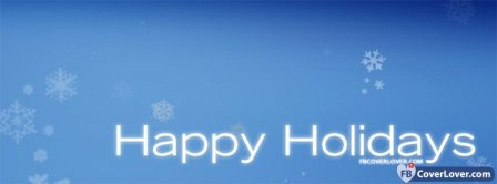 Happy Holidays 3 Facebook Covers
