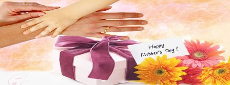 Happy Mothers Day Mom And Baby Hands Facebook Covers