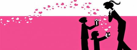 Happy Mother's Day Present Facebook Covers