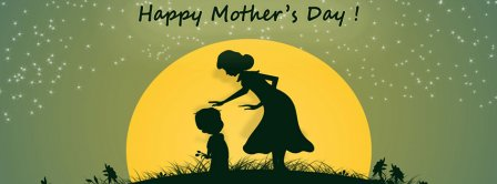 Happy Mothers Days Mother And Kid Facebook Covers