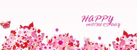 Happy Mothers Flowers Facebook Covers