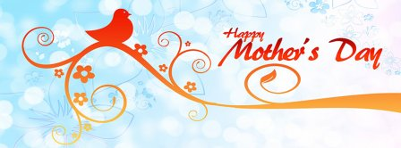 Happy Mothers Day Bird Tree Facebook Covers
