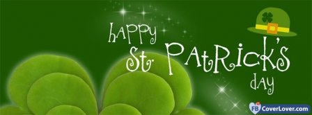 Happy Saint Patrick 6 Facebook Covers
