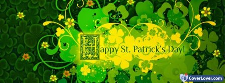 Happy Saint Patrick 7 Facebook Covers