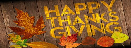 Happy Thanksgiving 3 Facebook Covers