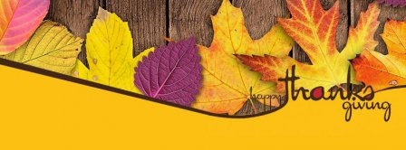 Happy Thanksgiving People ! Facebook Covers