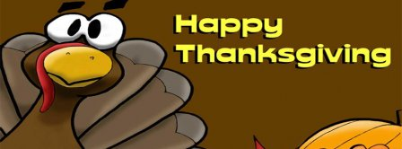 Happy Thanksgiving Turkey Facebook Covers