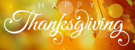 Happy Thanksgiving Facebook Covers
