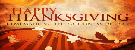 Thanksgiving The Goodness Of God Facebook Covers
