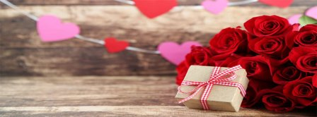 Happy Valentines Day Gift Facebook Covers