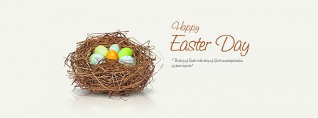 Happy Easter Day Facebook Covers