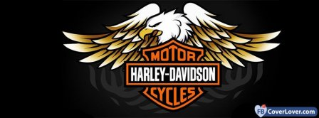 Harley Davidson Logo  Facebook Covers