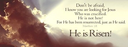He Is Risen Facebook Covers