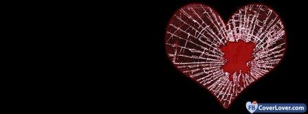Heart Break 3  Facebook Covers