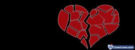 Heart Break 4 Facebook Covers