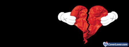 Heart Break 5  Facebook Covers