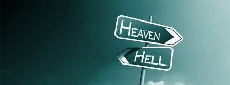 Heaven Hell  Facebook Covers