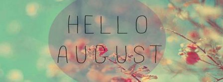 Hello August Trees Facebook Covers
