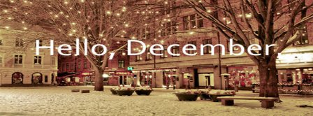 Hello December City Facebook Covers