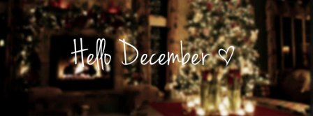Hello December  Facebook Covers