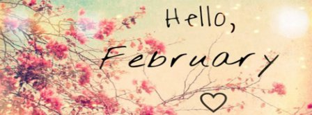 Hello February Facebook Covers