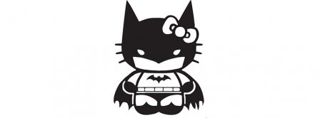 Hello Kitty Batman Facebook Covers