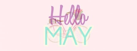 Hello May Bicycle Facebook Covers