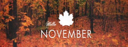 Hello November 3 Facebook Covers